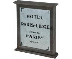 Schlüsselkasten Schlüsselschrank Vintage Nostalgie Retro Antik - Paris