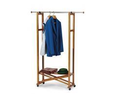 Arredamenti Italia Garderobe ELIOS, Holz - Klappbar - Ausziehbar - Farbe: Kirsche holz Ar-It il cuore del legno