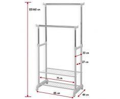 rollgarderobe g nstige rollgarderoben bei livingo kaufen. Black Bedroom Furniture Sets. Home Design Ideas