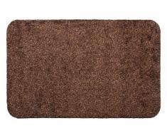 andiamo 700616 Fußmatte Samson / Sauberlaufmatte aus Baumwolle in Braun / Schmutzmatte mit rutschhemmendem Rücken / 1 x Fußabtreter (100 x 150 cm)