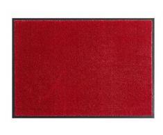 Softfußmatte - Schmutzfangmatte - Fußmatten in Soft und Clean in verschiedenen farben , sowie Größen - Trendfußmatte 2017 (100 x 180 cm, Bordeaux)