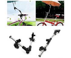 NOLOGO Yg-ct Regenschirm Spannkloben Supporter Steckerhalter Rohr Bar Fahrrad-Roller-Schirmständer Regen-Zahnrad-Werkzeughalter (Farbe : Multi)