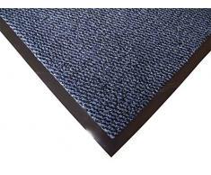 Doortex Schmutzfangmatte Fußmatte advantagemat, 90 x 150 cm, Blau, für den Innenbereich