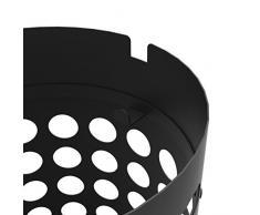 Unilux 400109020 Schirmständer Slim Regenschirmständer aus Metall und Kunststoff mit Wasserauffangschale und Haken 26 x 50cm Schwarz