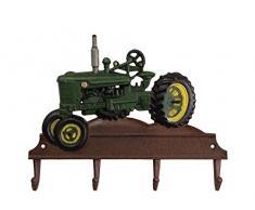 aubaho Kleiderhaken Traktor Wandgarderobe Garderobe Fahrzeug Eisen Antik-Stil 35cm (b)