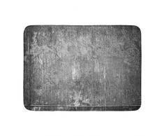 Fußmatte für den Innen- und Außenbereich, Rost verkratzt, aus rostfreiem Eisen, gealtert wie gut, alte Metallplatte für braune, verlassene Badezimmer-Dekoration, rutschfeste Teppiche, 40,6 x 61 cm