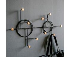 KEKE Nordic Creative Schmiedeeisen Wand dekorative Kleiderhaken Haken