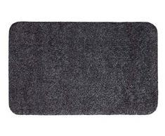 andiamo Fußmatte Samson, waschbare & resistente Türmatte aus 100% Baumwolle, Größe:60x100cm, Farbe:Anthrazit