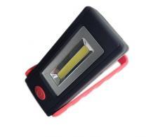 Hrph COB Tragbare Arbeits-Licht-Lampen-LED magnetische Klapphaken hängende Taschenlampe