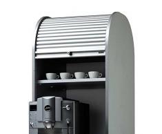 Rolladenschrank für Kaffeemaschine 50 cm breit Pharao24