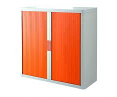 Paperflow Rolladenschrank Stecksystem easyOffice weiss / orange 1m