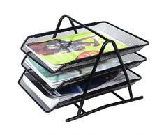 Briefablage Papierablage Dokumenten Schreibtischablage Briefkorb Ablagefach