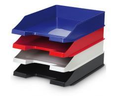 Papierablage Briefablage Dokumentenablagesystem für Format DIN A4 / C4 - Blau