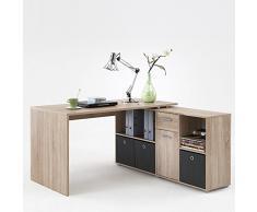 Büromöbel Set TRAVAILLO115 Eiche Nachbildung