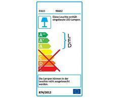 LED Rasterleuchte SALOBRENA-C von EGLO - Smart Home Einbauleuchte in weiß mit 16W - aus Alu und aus weißem Kunststoff - EGLO Connect Rasterleuchten mit Farbwechsel und über Fernbedienung steuerbar