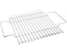THÜROS Grillrostauflage Edelstahl für THÜROS T2 Kaminzuggrill / Trichtergrill – Grillfläche: 35x35cm