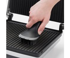OXO Good Grips Bürste für Elektrogrill und Sandwichtoaster, Schwarz/grau, 15 x 7,6 x 7,6 cm