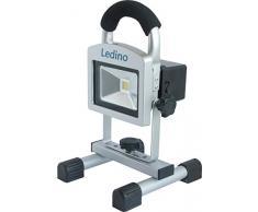ledino LED-AKKUSTRAHLER10W LED Akku-Standstrahler ,,Köpenick 10 140106001111