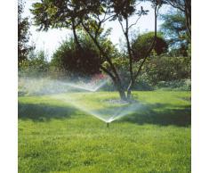 GARDENA Sprinklersystem Versenkregner S 80: Kreisregner zur Bewässerung kleinerer Gartenflächen, variable Flächengröße und Sektoreneinstellung, integriertes Schmutzfangsieb (1569-29)