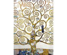 1art1 73589 Gustav Klimt - Der Lebensbaum (Detail), 2-Teilig Fototapete Poster-Tapete 250 x 180 cm