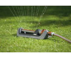 GARDENA Premium Viereckregner 250: Rasensprenger zur Bewässerung von rechteckigen und quadratischen Flächen von 105 - 250 m², Reichweite 7 -17 m, mit modernem und robustem Design (8151-20)