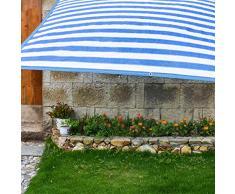 JDlept Sonnensegel,Rechteck Markisenüberdachung Außengarten Terrassenpflanze Swimmingpool 85% Beschattungsrate Sonnencreme 2x3m.