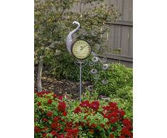 Poolmaster Outdoor Thermometer Gartenstecker Pfau Multi