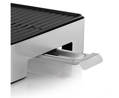 WMF LONO Tischgrill Quadro, Elektrogrill mit kompakter Grillfläche, spülmaschinenfest, 1250 W