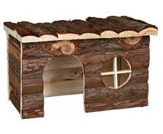 Trixie 62184 Natural Living Jerrik Blockhaus, 50 × 25 × 33 cm