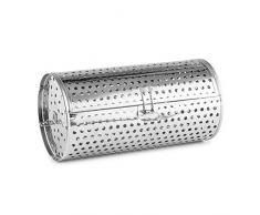 Klarstein Zubehörteil Grill-Käfig Grill-Korb für Klarstein Omnichef Miniofen Baureihe (Zubehör- und Ersatzteil, Edelstahl, leicht zu reinigen) silber
