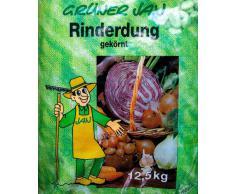 Grüner Jan Rinderdung Rindermist Dung 12,5 kg Pellets Gartendünger