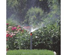 Gardena Sprinklersystem Versenkregner S 80/300: Rasensprenger zum Bewässern auch über höhere Pflanzen hinweg, für kleinere Flächen bis 80 m², variable Flächengröße und Sektoreneinstellung (1566-29)