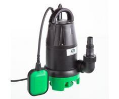 Ultranatura Schmutzwasserpumpe SP-100, 350 Watt, Tauchmotorpumpe mit Schwimmerschalter - Fördermenge bis 7.000 l/h, Förderhöhe max. 5 m