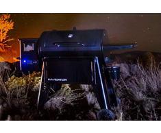 Pit Boss Navigator 1150 Pelletgrill, schwarz, Stahl, 162 x 94 x 119 cm, mit digitalem Display