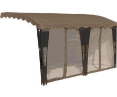 baumarkt direkt Seitenteile für Terrassendächer »Mallorca« 1000 cm
