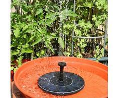 kati-way Solar Springbrunnen Pumpe, Solar-Energie Drive | Saving-Solar Wasser Brunnen Solar Brunnen Springbrunnen Künstliche Outdoor Springbrunnenpumpe