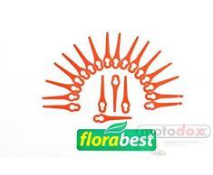Florabest 20 Kunststoffmesser/Messer LIDL Akku Rasentrimmer Fat 18 B2 und Fat 18 B3 Ian 71315 86154 95940 102971 273039 - Batterie Kantenschneider Messerchen