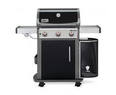 Weber 46713379 Gasgrill Spirit E-320 Premium schwarz mit GBS, 3 Edelstahlbrenner, Crossover Zündsystem