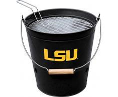 Imperial Offizielles Lizenzprodukt NCAA Merchandise: Eimergrill, Unisex-Erwachsene, Officially Licensed NCAA Merchandise: Louisiana State University Bucket Grill, Louisiana State University
