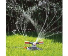 Gardena Comfort Kreisregner Mambo: Rasensprenger für gleichmäßige Bewässerung durch drehbare präzise Düsenköpfe, für Flächen bis max. 310m², mit integr. Schmutzsieb, max. Sprengbereich 20m (2062-20)