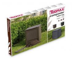 TOOMAXART650B Komposter Rattan Line, braun