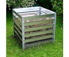 Metall-Komposter 1200 l 109 x 109 x 100 cm