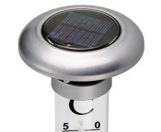 CV TFA Gartenthermometer mit Solarbeleuchtung Wetterfest