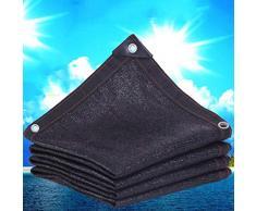Sunblock Groß Schwarz Schwerlast Schattentuch, Sonnenschutznetz Schattierungsnetz, Markise Und Zaun, Terrassenpflanze Und Baldachinabdeckung Schatten Tuch (Size : 6x20m)