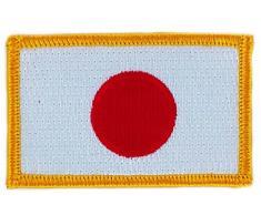 Aufnäher Patch Japanischer Fächerahorn, bestickt mit Fahne flag backpack zum Aufbügeln