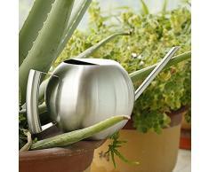 Aufee Edelstahl Gießkanne, Hohe Kapazität Giesskanne Blumengießkanne Gartengießkanne aus Edelstahl für Hausgartenpflanzen oder Blumen 1000L