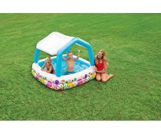 Intex Sun Shade Pool - Kinder Aufstellpool - Planschbecken - 157 x 157 x 122 cm - Für 2+ Jahre