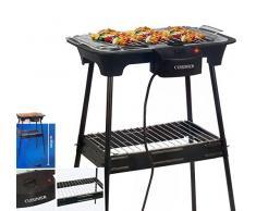 Cuisiner Elektro Standgrill 220 - 240V H 69cm Thermostat Barbecue Garten Balkon