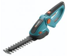 GARDENA Set Akku-Gras- und Strauchschere ComfortCut: Rasenkantenschere mit 8 cm Schnittbreite und 18 cm Schnittlänge, für bis zu 1400 m Rasenkante, inkl. Messerschutz und Ladegerät (8897-20)