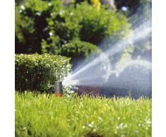 GARDENA Sprinklersystem Turbinen Versenkregner T380: Bewässerungssystem für größere Rasenflächen bis 380 m², mit einstellbarer Wurfweite (6-11 m) und stufenloser Sektoreneinstellung (8205-29)